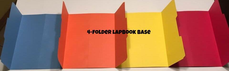 File Folders- Lapbook Bases