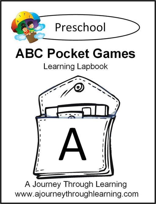 ABC Pockets Lapbook - A Journey Through Learning Lapbooks