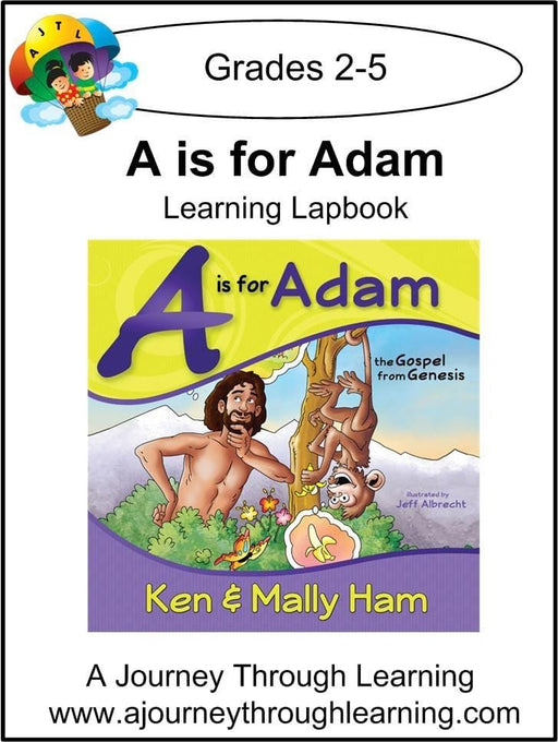 A is for Adam Lapbook - A Journey Through Learning Lapbooks