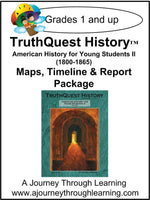 American History for the Young Child Book 2 Supplements - A Journey Through Learning Lapbooks