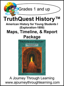 American History for the Young Child Book 1 Supplements - A Journey Through Learning Lapbooks