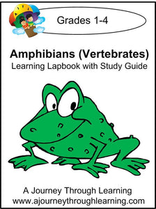 Exploring Amphibians Lapbook with Study Guide - A Journey Through Learning Lapbooks