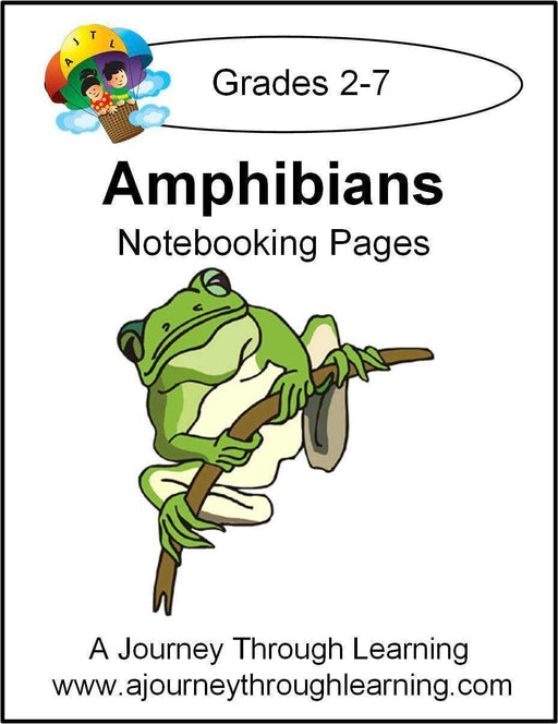 Amphibians Notebooking Pages - A Journey Through Learning Lapbooks