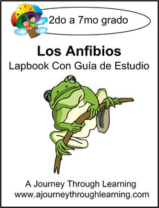 Los Anfibios (Astronomy) Lapbook with Study Guide - A Journey Through Learning Lapbooks