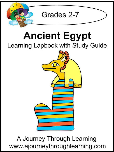 Ancient Egypt Lapbook with Study Guide - A Journey Through Learning Lapbooks