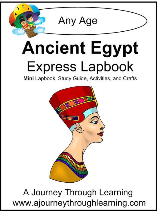 Ancient Egypt Express Lapbook | A Journey Through Learning Lapbooks