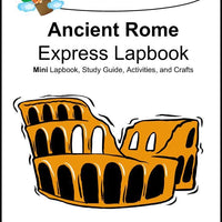 Ancient Rome Express Lapbook - A Journey Through Learning Lapbooks