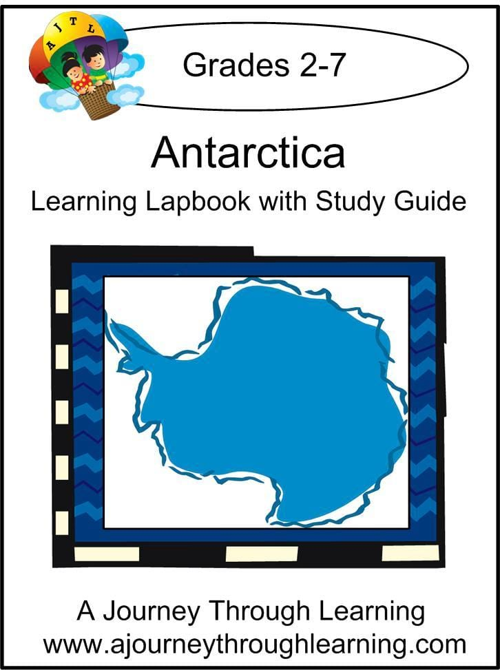 Antarctica Lapbook with Study Guide - A Journey Through Learning Lapbooks