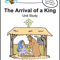 Jesus-Arrival of a King Unit Study - A Journey Through Learning Lapbooks