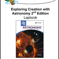 Exploring Creation with Astronomy 2nd Edition-Jeannie Fulbright/Apologia Lapbook - A Journey Through Learning Lapbooks