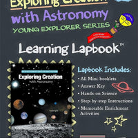 Exploring Creation with Astronomy 1st Edition-Jeannie Fulbright/Apologia Lapbook - A Journey Through Learning Lapbooks