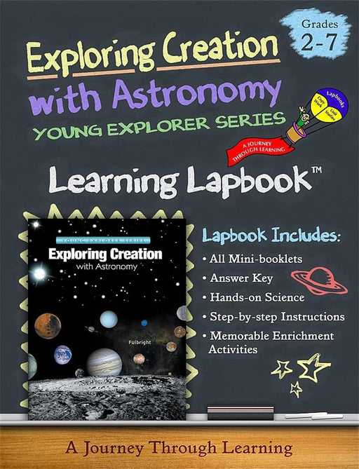 Exploring Creation with Astronomy 1st Edition-Jeannie Fulbright/Apologia Lapbook | A Journey Through Learning Lapbooks