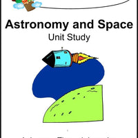 Astronomy and Space Unit Study - A Journey Through Learning Lapbooks