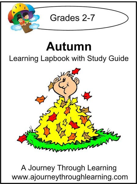 Autumn Lapbook with Study Guide - A Journey Through Learning Lapbooks