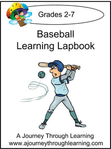 Baseball Express Lapbook - A Journey Through Learning Lapbooks