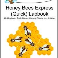 Honey Bees Express Lapbook - A Journey Through Learning Lapbooks