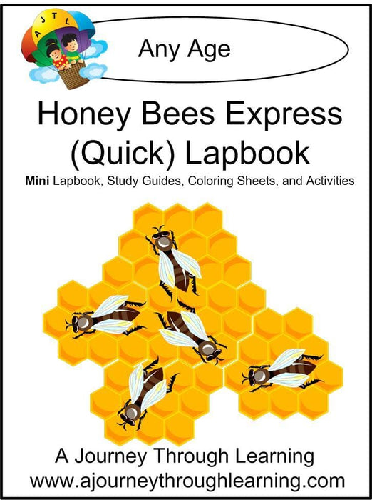 Honey Bees Express Lapbook | A Journey Through Learning Lapbooks