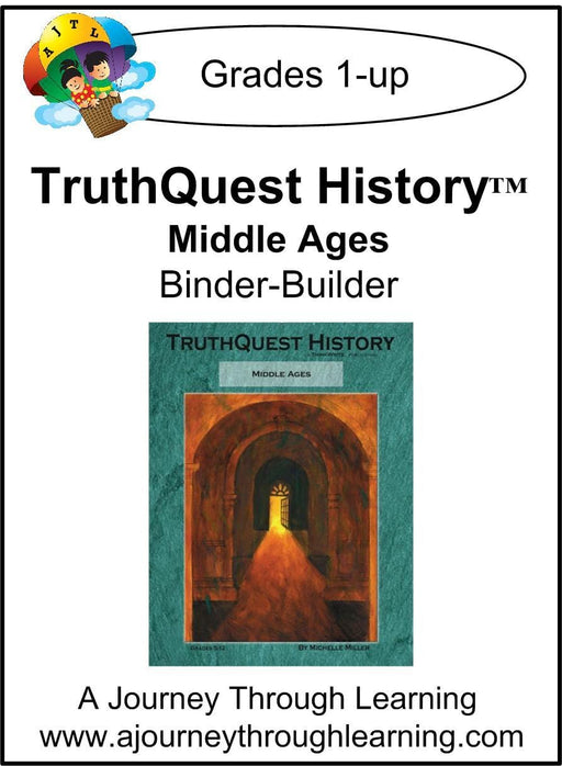 Middle Ages Supplements Made for TruthQuest History - A Journey Through Learning Lapbooks