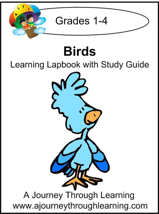 Birds Lapbook with Study Guide - A Journey Through Learning Lapbooks