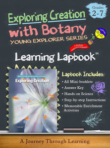Exploring Creation with Botany-Jeannie Fulbright/Apologia Lapbook - A Journey Through Learning Lapbooks