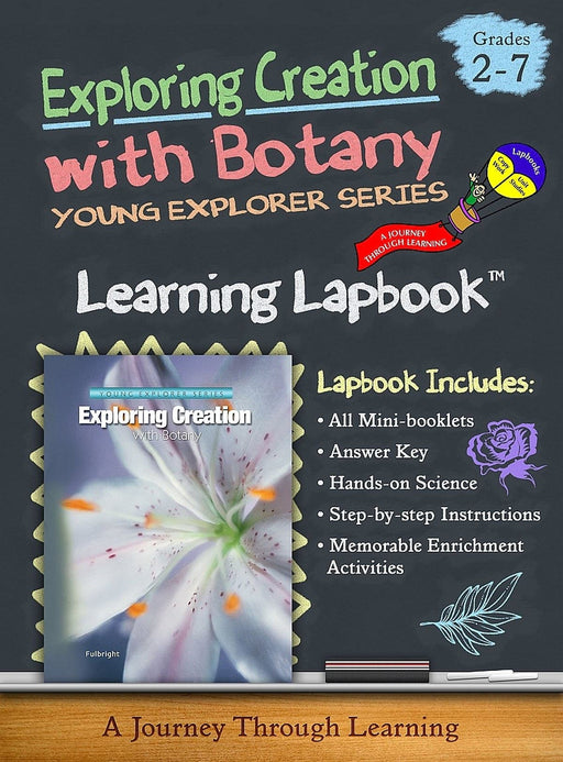 Exploring Creation with Botany-Jeannie Fulbright/Apologia Lapbook | A Journey Through Learning Lapbooks