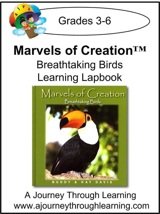 New Leaf Press- Marvels of Creation: Breathtaking Birds Lapbook - A Journey Through Learning Lapbooks