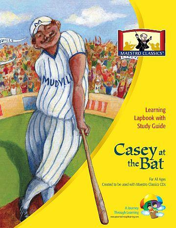 Maestro Classics Casey at the Bat Lapbook - A Journey Through Learning Lapbooks
