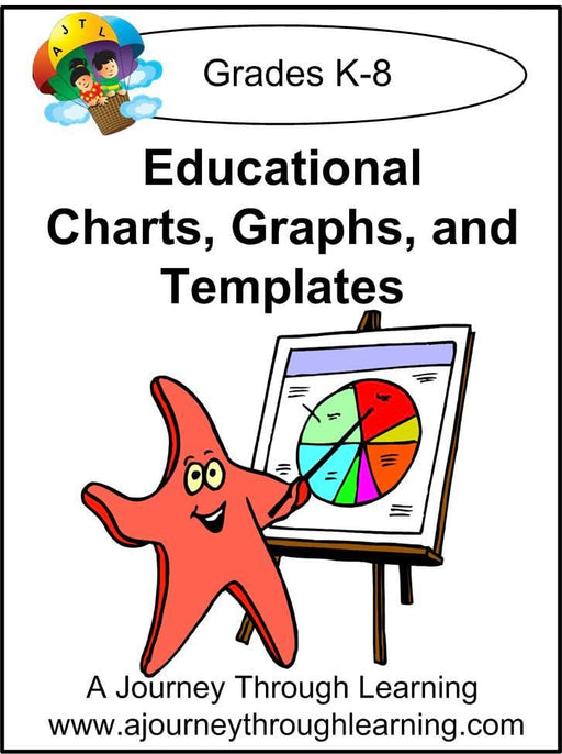 Educational Charts, Graphs, and Templates - A Journey Through Learning Lapbooks