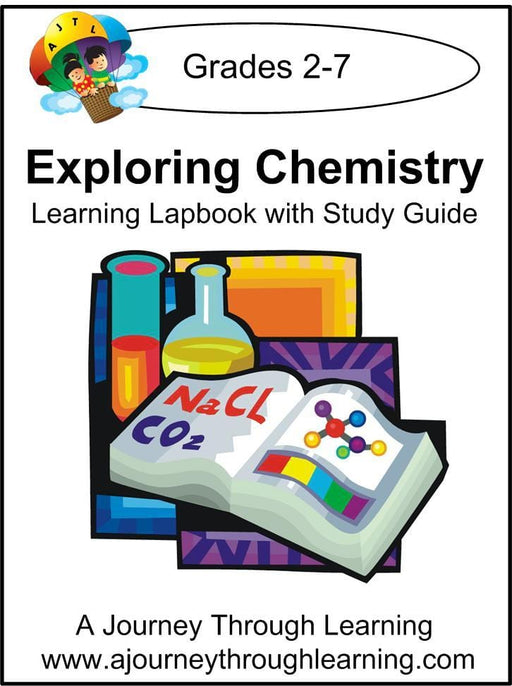 Chemistry Lapbook with Study Guide - A Journey Through Learning Lapbooks
