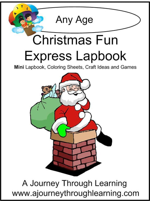 Christmas Fun Express Lapbook | A Journey Through Learning Lapbooks
