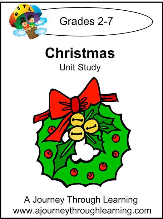 Christmas Unit Study - A Journey Through Learning Lapbooks