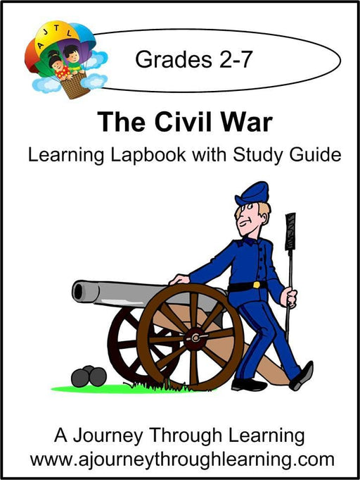 Civil War Lapbook with Study Guide | A Journey Through Learning Lapbooks