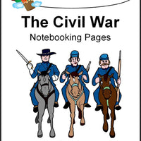 Civil War Notebooking Pages - A Journey Through Learning Lapbooks