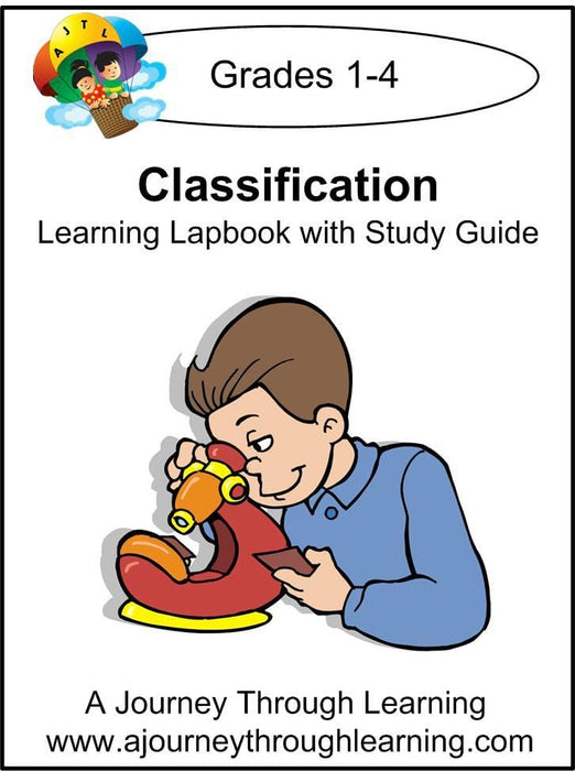 Classification Lapbook with Study Guide - A Journey Through Learning Lapbooks