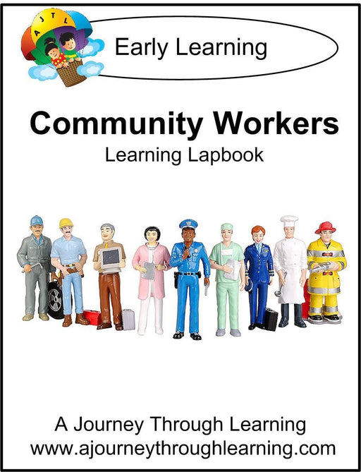Community Workers Lapbook | A Journey Through Learning Lapbooks