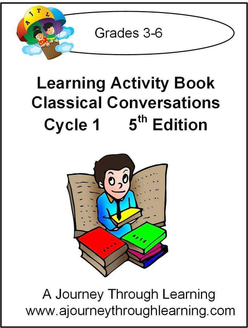 Classical Conversations Cycle 1 Learning Activity Book 5th Edition - A Journey Through Learning Lapbooks