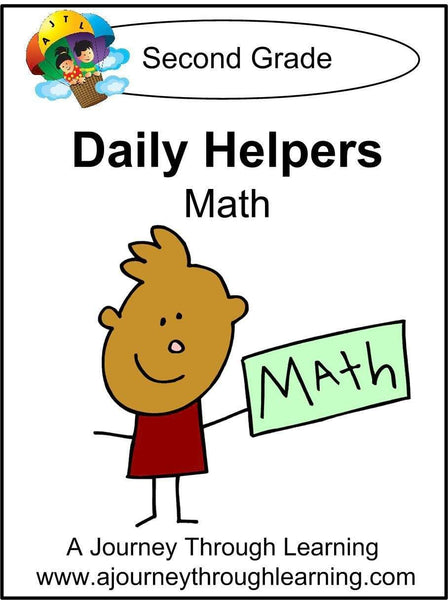 Daily Helper Grade 2 Math Lapbook - A Journey Through Learning Lapbooks