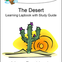 Desert Lapbook with Study Guide - A Journey Through Learning Lapbooks