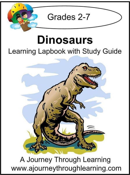 Dinosaurs Lapbook with Study Guide - A Journey Through Learning Lapbooks