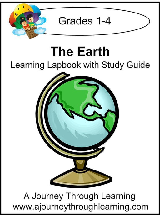 Earth Lapbook with Study Guide - A Journey Through Learning Lapbooks