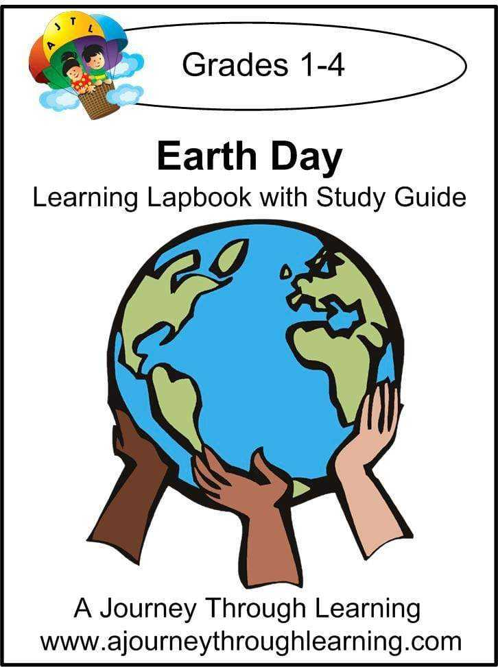 Earth Day Lapbook with Study Guide - A Journey Through Learning Lapbooks