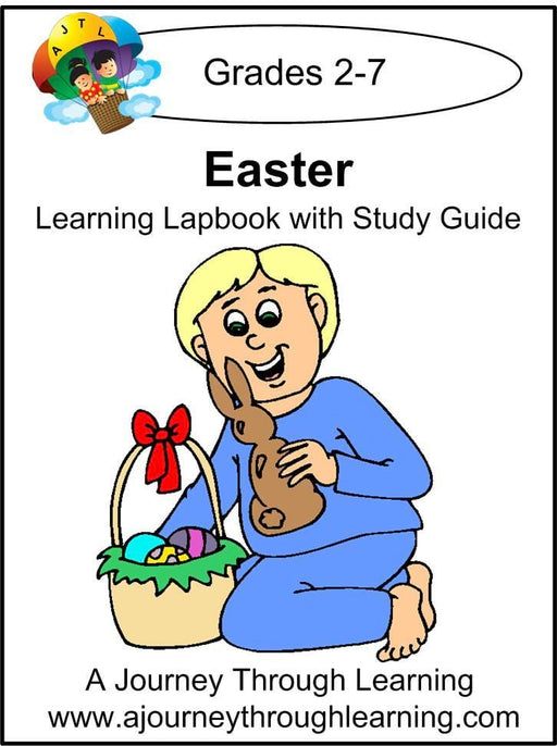 Easter Lapbook with Study Guide | A Journey Through Learning Lapbooks
