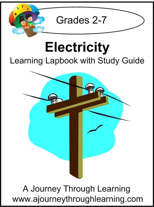 Electricity Lapbook with Study Guide - A Journey Through Learning Lapbooks
