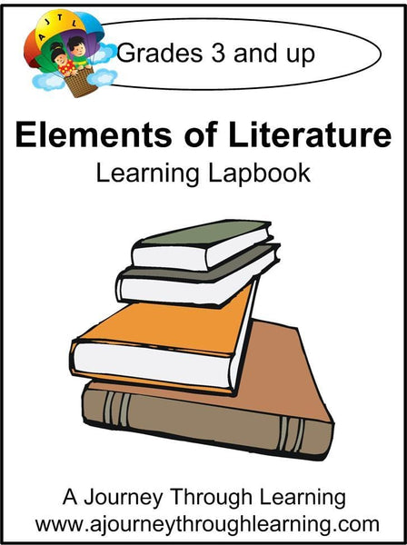 Elements of Literature Lapbook (no study guide) - A Journey Through Learning Lapbooks