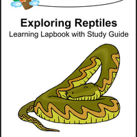 Exploring Reptiles Lapbook with Study Guide