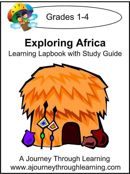 Exploring Africa Lapbook with Study Guide - A Journey Through Learning Lapbooks