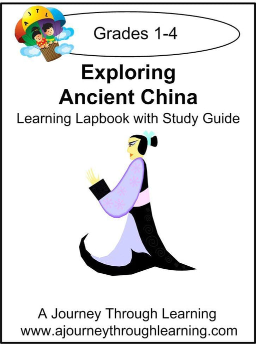 Exploring Ancient China Lapbook with Study Guide - A Journey Through Learning Lapbooks