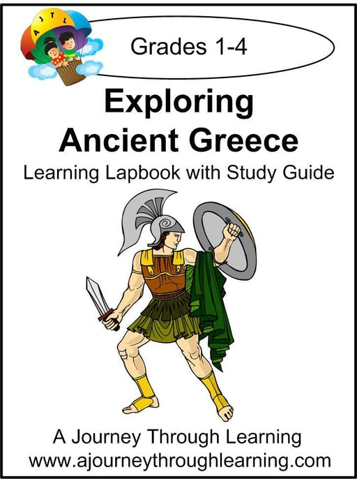 Exploring Ancient Greece Lapbook with Study Guide - A Journey Through Learning Lapbooks