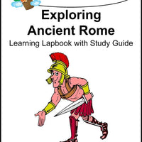 Exploring Ancient Rome Lapbook with Study Guide - A Journey Through Learning Lapbooks