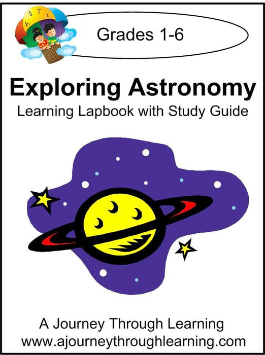 Exploring Astronomy Lapbook with Study Guide | A Journey Through Learning Lapbooks
